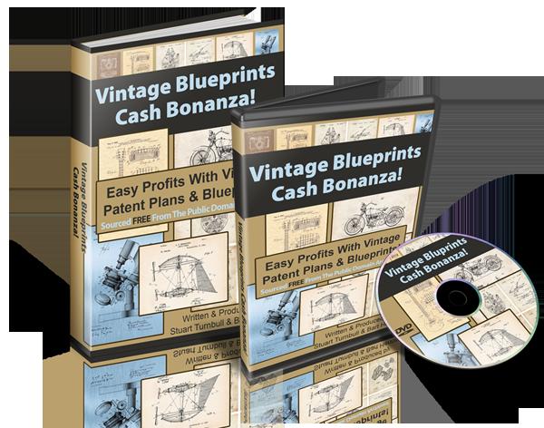 Vintage Blueprints Cash Bonanza